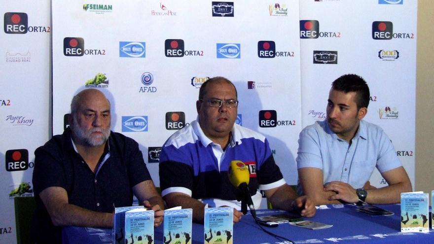 Presentación II edición 'FestiValde en corto', Valdepeñas (Ciudad Real) / Foto: Organización