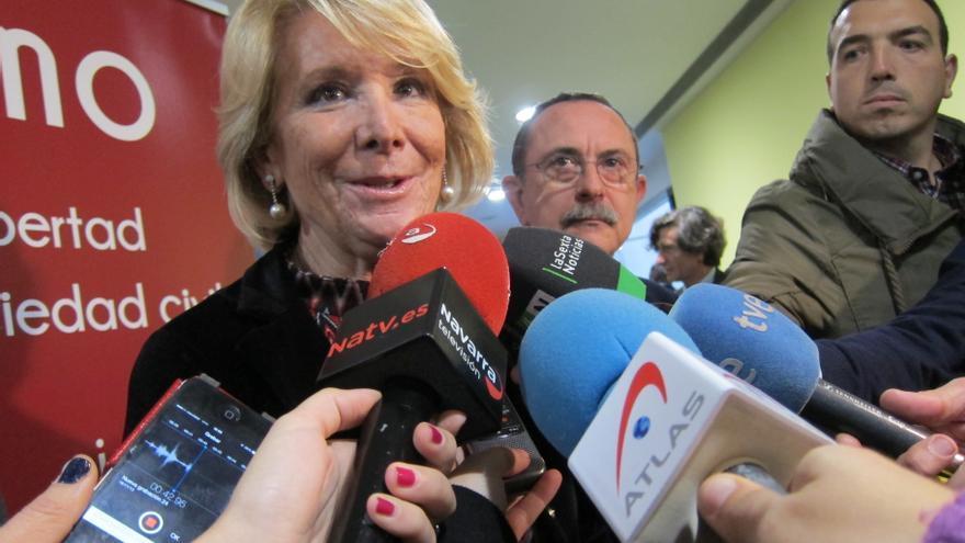"""Aguirre cree que el paro de la limpieza se ha resuelto """"muy bien"""" pese """"al vandalismo"""" y pide una ley de huelga"""