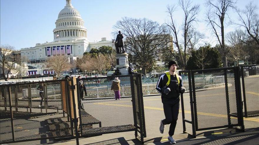 Máxima seguridad pero menos participación para segunda investidura de Obama