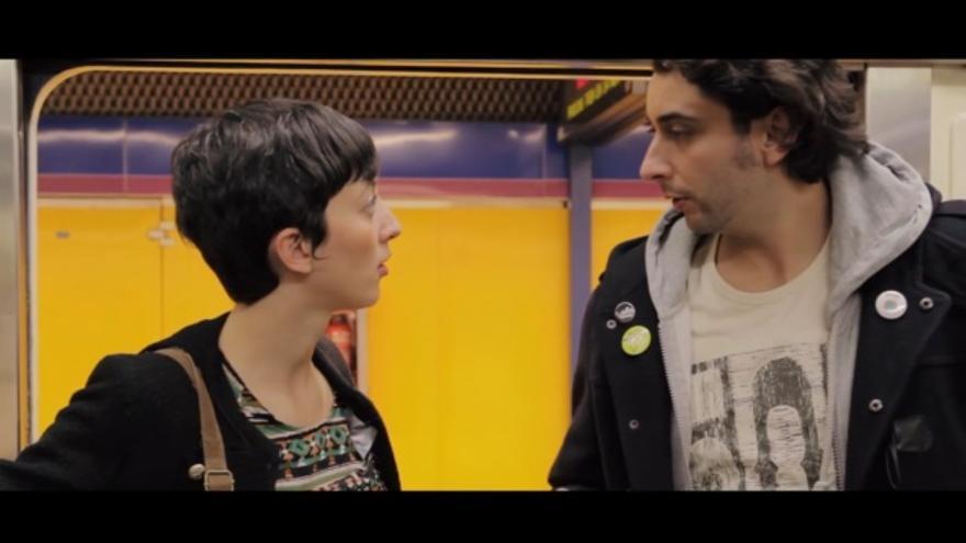 Escena del cortometraje 'Piel Canela'