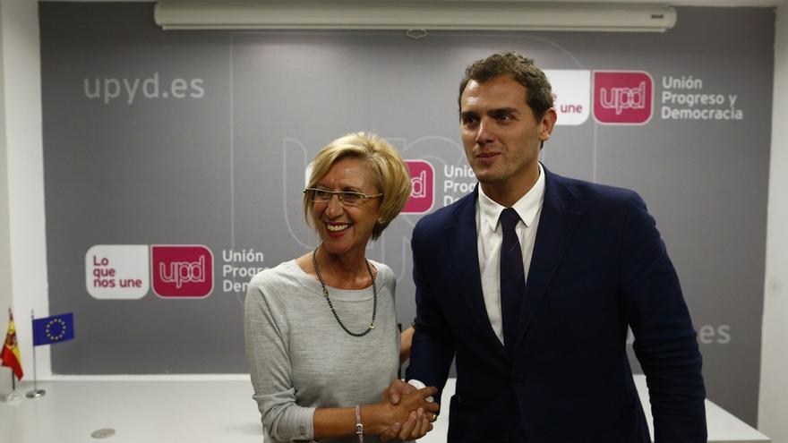 """Rosa Díez cree que Rivera evidencia su """"inmadurez política"""" al apostar sólo por políticos jóvenes para liderar cambios"""