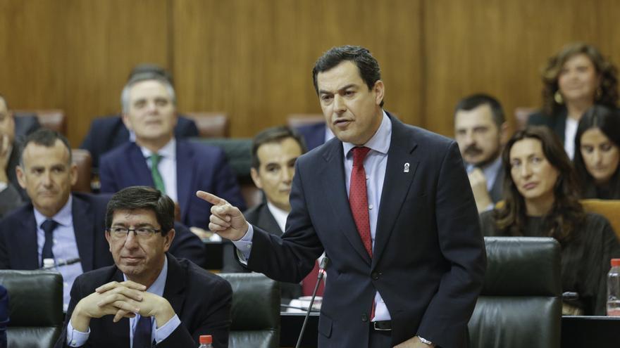 Vox pregunta este jueves a Moreno en el Parlamento sobre política migratoria y Susana Díaz sobre manifestaciones del 8M