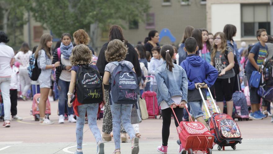 108.976 alumnos de Infantil y Primaria comenzarán el curso en Aragón el próximo 10 de septiembre