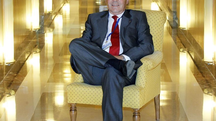 El presidente de Enresa, Francisco Gil-Ortega, en agosto pasado en Santander. Efe / Esteban Cobo