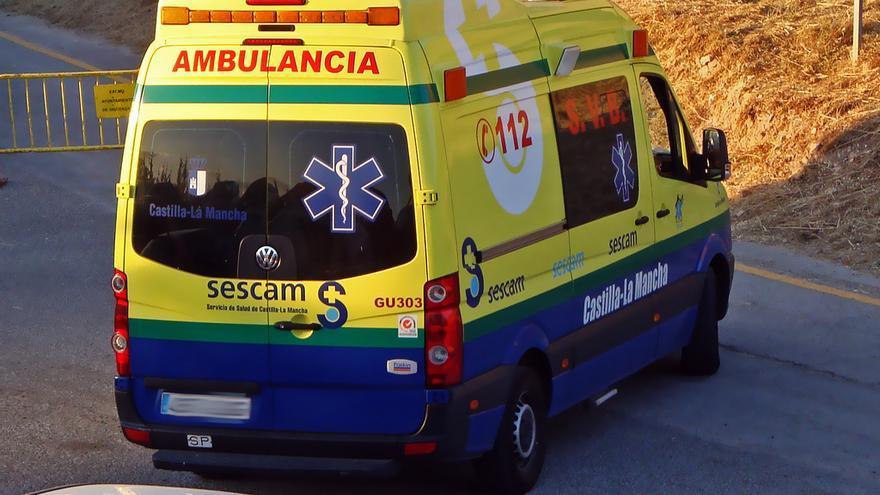 Ambulancia de soporte vital básico del Servicio de Salud de Castilla-La Mancha. Foto: www.flickr.com/dipaba