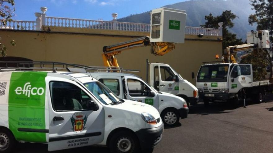 Effico ya presta servicios en otros municipios canarios como La Orotava.