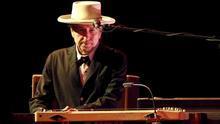 En la imagen, el músico Bob Dyland.