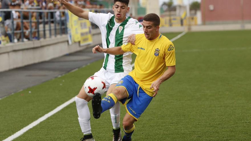 Partido entre Las Palmas Atlético y el Córdoba B.