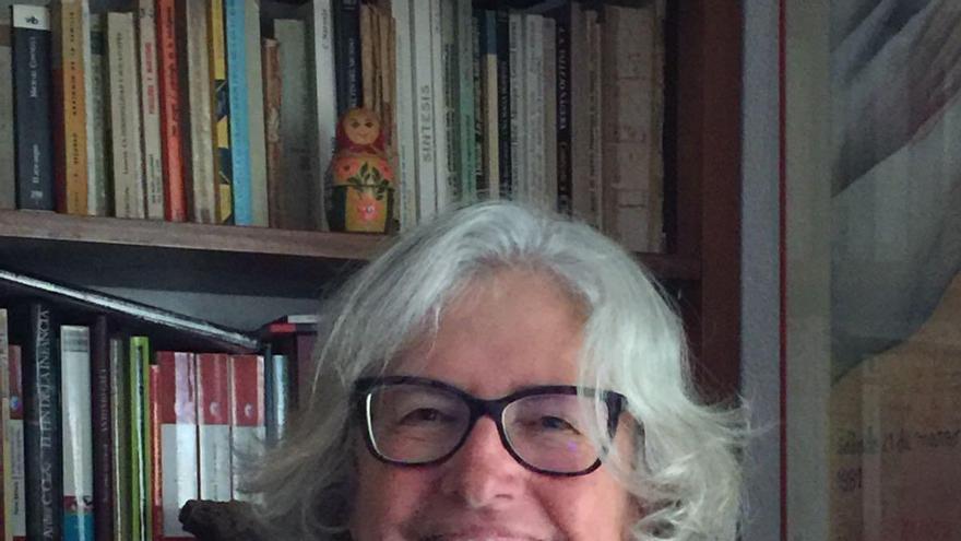 Fausta Cruz Brito, directora Científica de la  Asociación Canaria de Psicoterapia Psicoanalítica  y organizadora del encuentro.
