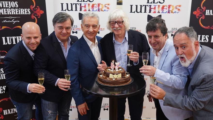 El grupo Les Luthiers presentará en Baluarte su espectáculo 'Viejos hazmerreíres' los días 13 y 14 de marzo de 2020