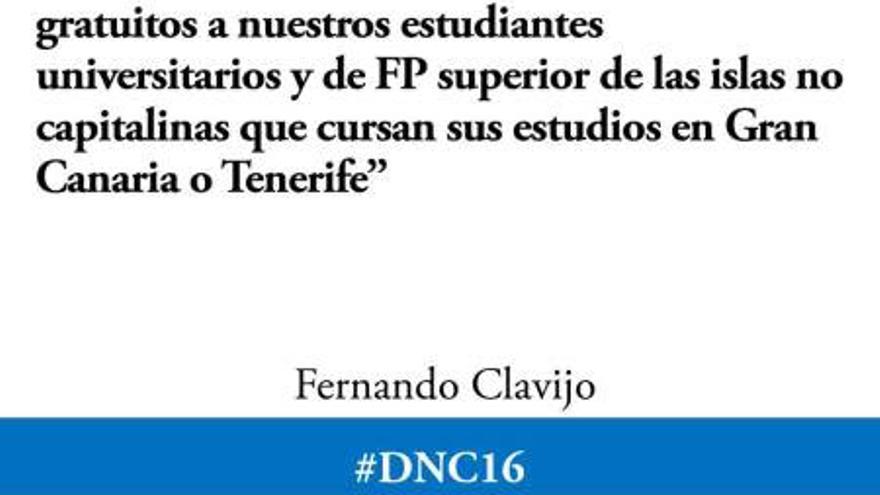 Imagen publicada en las redes sociales de Fernando Clavijo