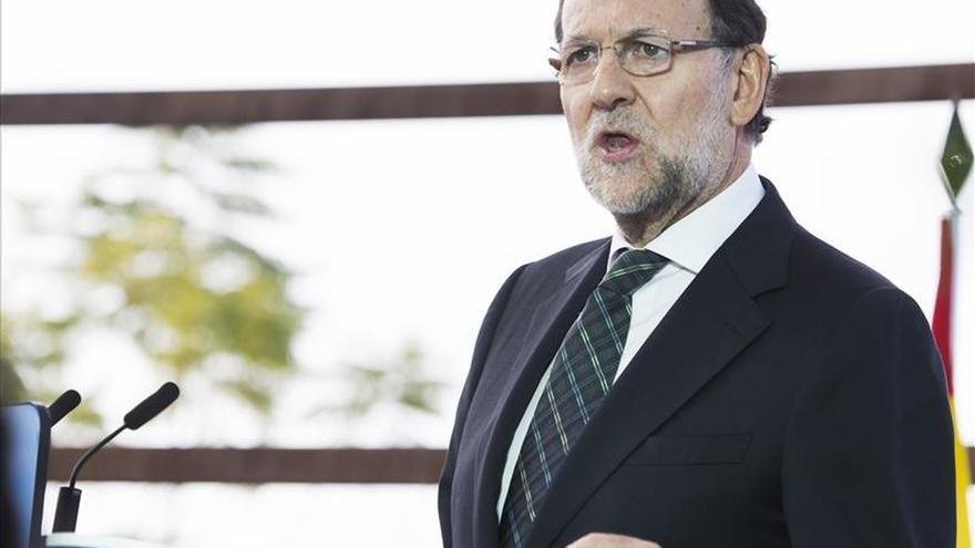 Rajoy da por acabado el liderazgo de Sánchez y aconseja al PSOE reorganizarse