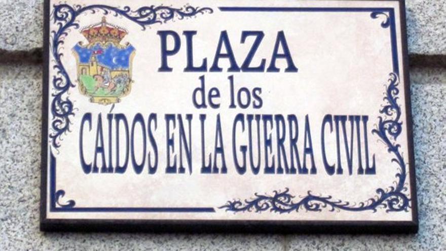 Plaza en el callejero de Guadalajara