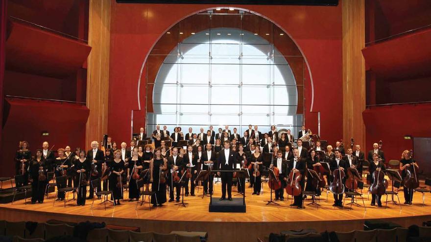 la Orquesta Filarmónica de Gran Canaria.
