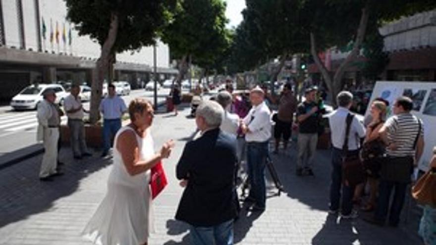 La zona comercial de Mesa y López tendrá 1.500 metros cuadrados de césped