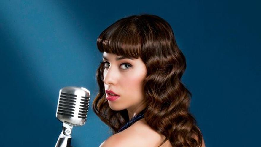 Adriana Blue, voz de la banda The Sugars.
