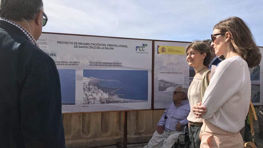 Inauguración de la playa de Santa Cruz de La Palma