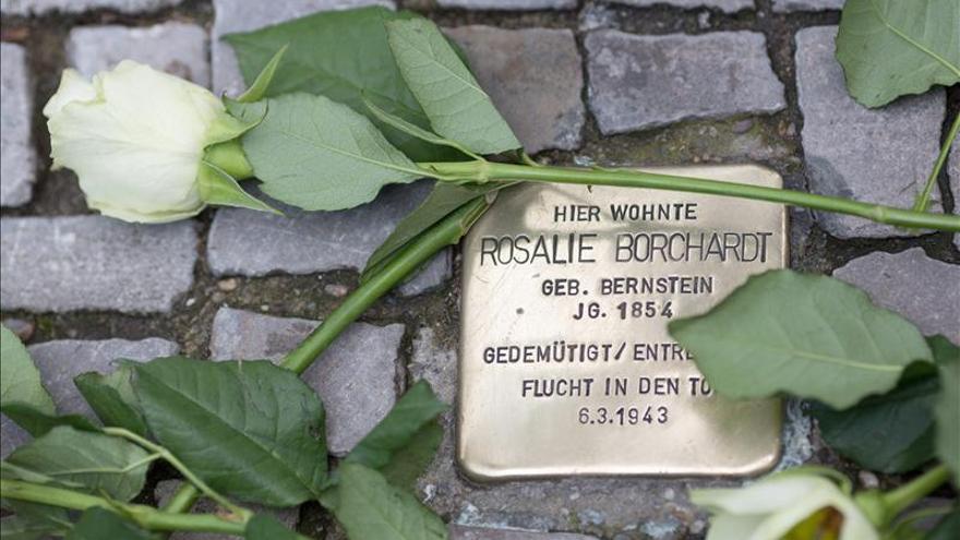 """Alemania recuerda a las víctimas de la """"noche de los cristales rotos"""""""