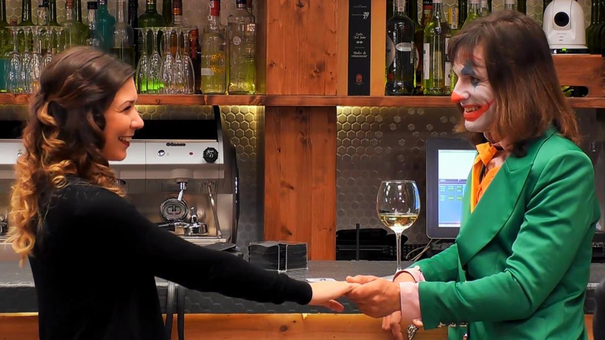 Daniel y Krisztina en su paso por 'First Dates'