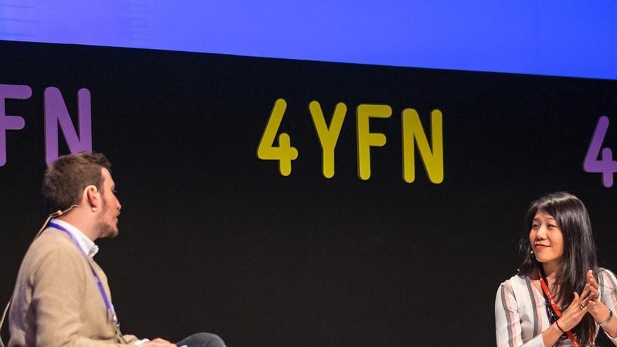 Pep Gómez durante el 4YFN