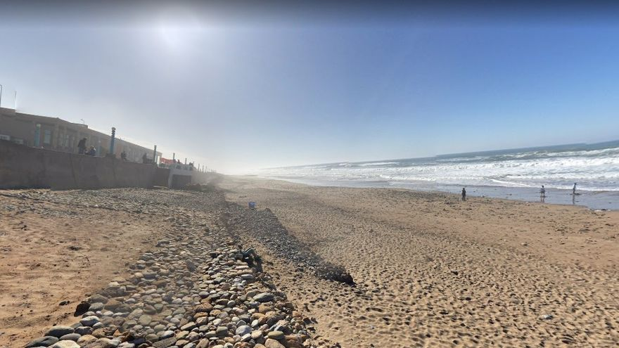 Playa de Aglou.
