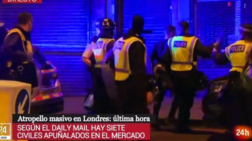 Detención Londres 24 horas