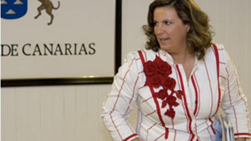 Rita MArtín, consejera de Turismo. (CANARIAS AHORA)