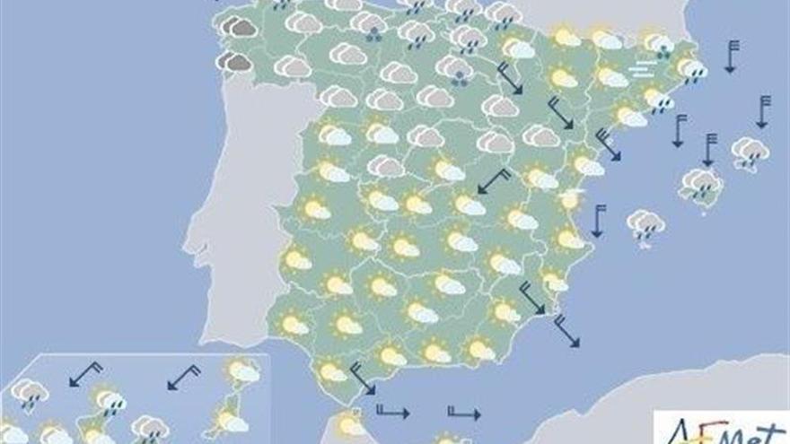 Hoy persiste la inestabilidad en Baleares y el litoral catalán