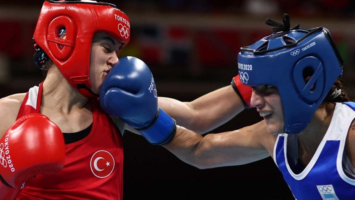 Dayana Sánchez cayó en su combate olímpico por los octavos de final ante una rival turca.