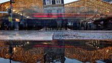 La huelga de trenes en Francia por las pensiones continuará en Navidades
