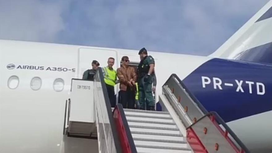 La UCO de la Guardia Civil interroga en Madrid a Patrick Nogueira antes de pasar a disposición judicial en Guadalajara
