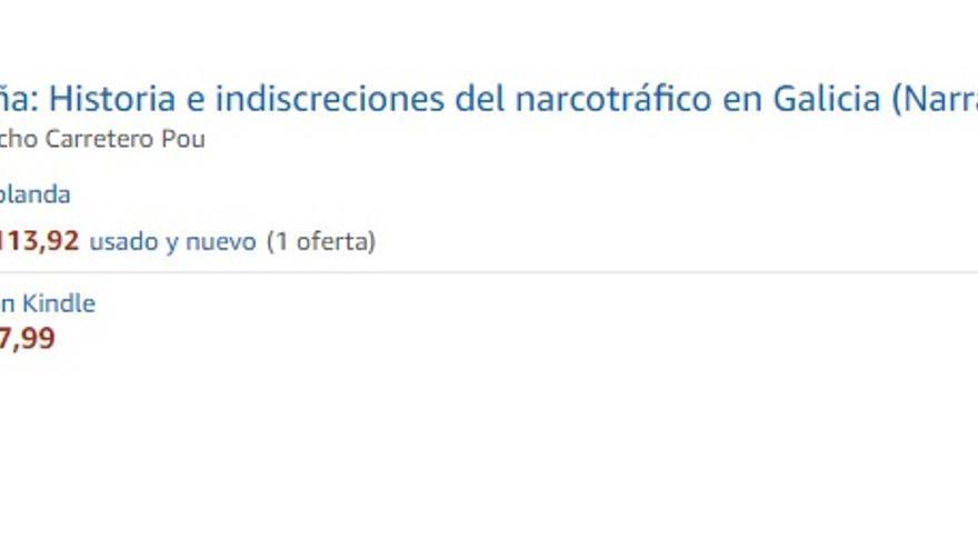 Fariña por 113 euros en Amazon