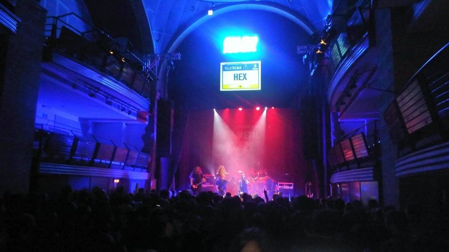 La banda Hex, ganadora en la categoría Metal del Villa de Bilbao, dona sus 5.000 euros de premio a la Cuadri del Hospi