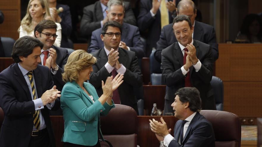 Ignacio González agradece el apoyo de Rajoy para ser presidente regional y espera los consejos de los expresidentes