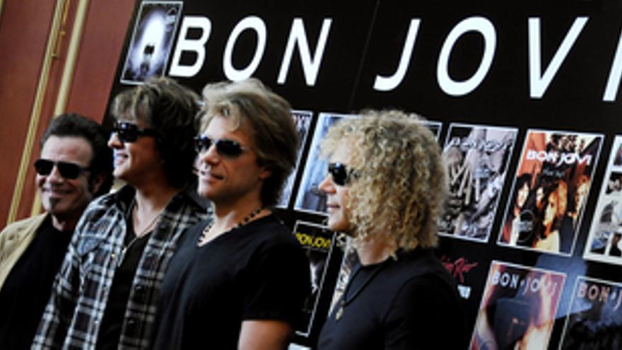 El grupo Bon Jovi