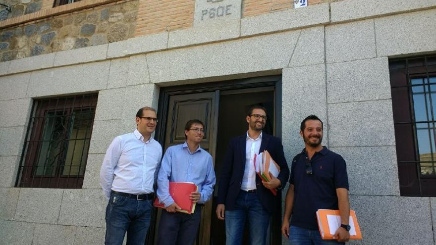 Presentación avales de Emiliano García-Page a primarias PSOE CLM