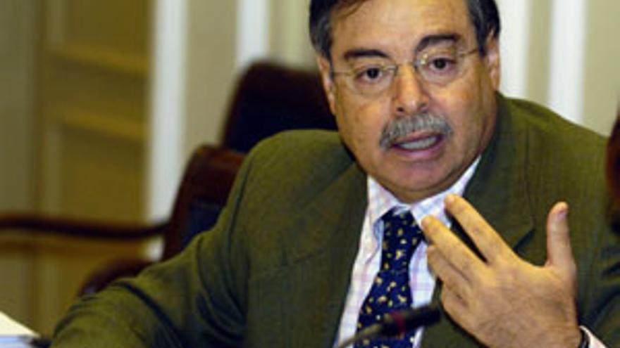 Domingo Berriel, consejero de MEdio Ambiente. (CANARIAS AHORA)
