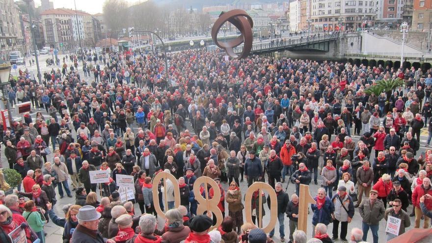 """Movimiento de Pensionistas de Bizkaia tiene """"expectativas limitadas"""" con el nuevo Gobierno, que ya no tiene """"excusas"""""""