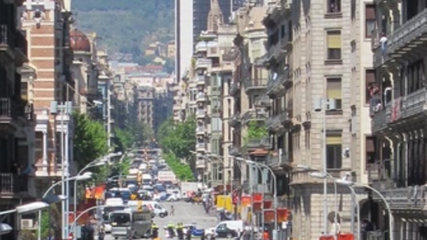 Manifestación Estudiantes En Barcelona 3M
