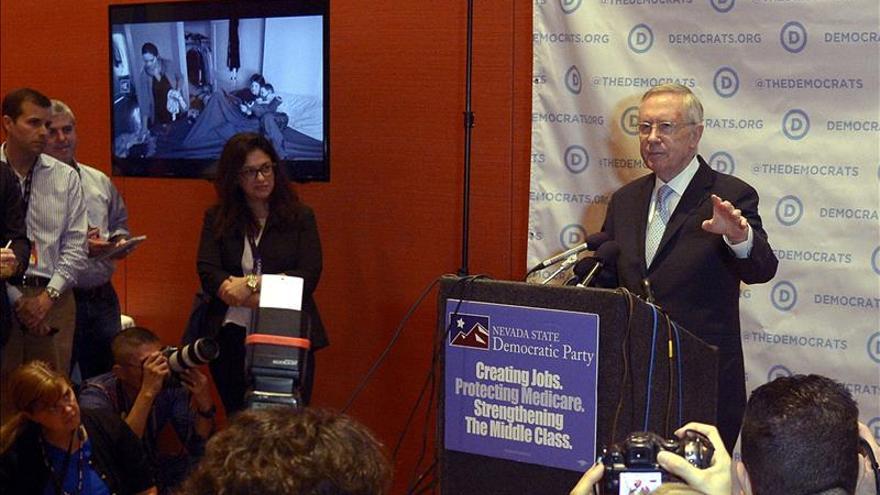 Harry Reid descarta la intervención sorpresa de Joe Biden en el debate demócrata