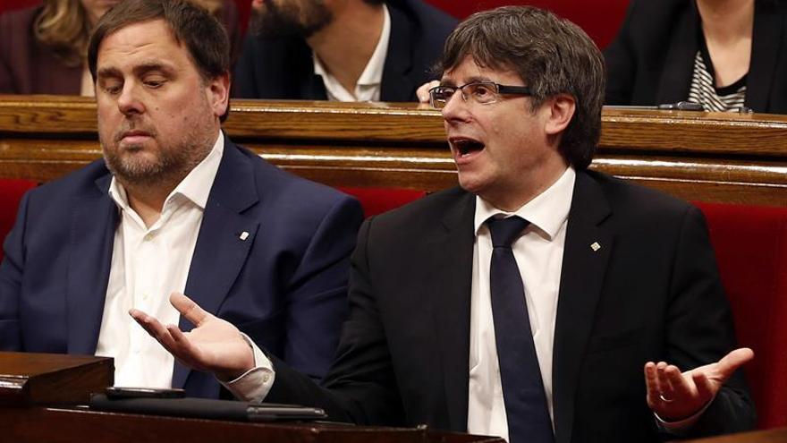 El Parlament desafía al Estado aprobando presupuestos que prevén referéndum