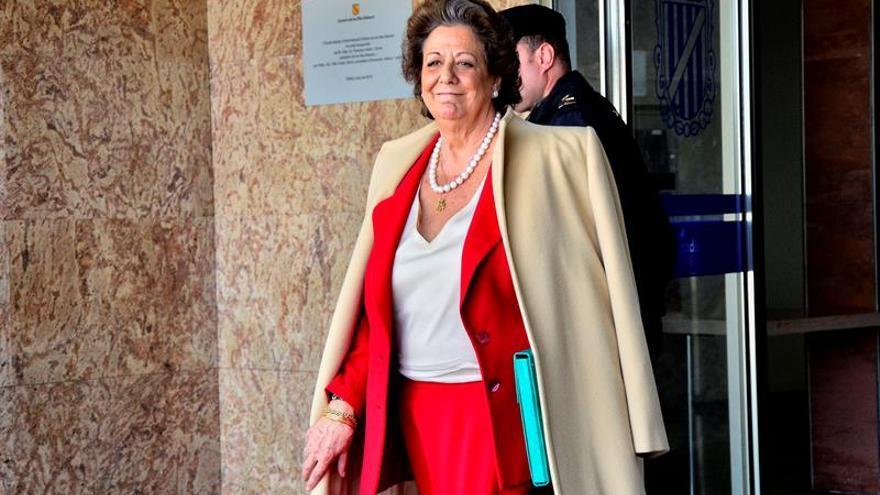 Rita Barberá, citada el 24 de mayo en la comisión que investiga al PP de Valencia