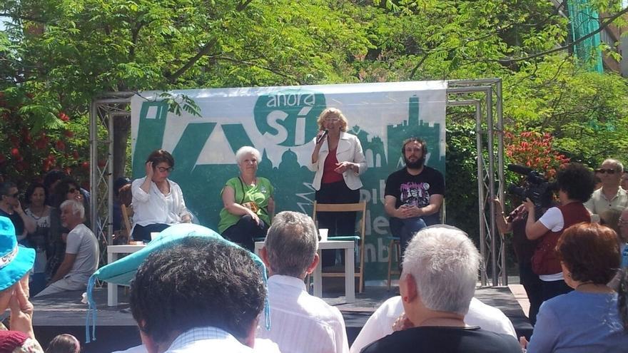 """Manuela Carmena apoya la huelga de basuras, """"que evidencia el disgusto de la sociedad con la limpieza de la ciudad"""""""