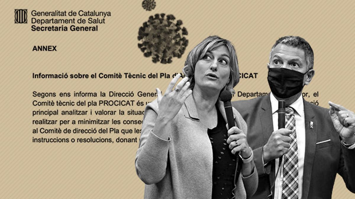 El PROCICAT es el plan mediante el que Catalunya toma medidas contra la COVID y depende de Salut e Interior
