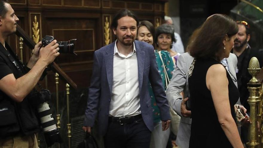 El Congreso debate hoy la moción de censura de Podemos contra Mariano Rajoy
