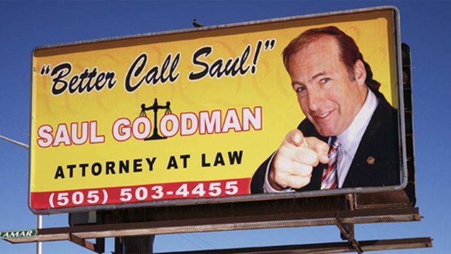 Saul Goodman, otro abogado que lleva a cabo dudosas prácticas comerciales