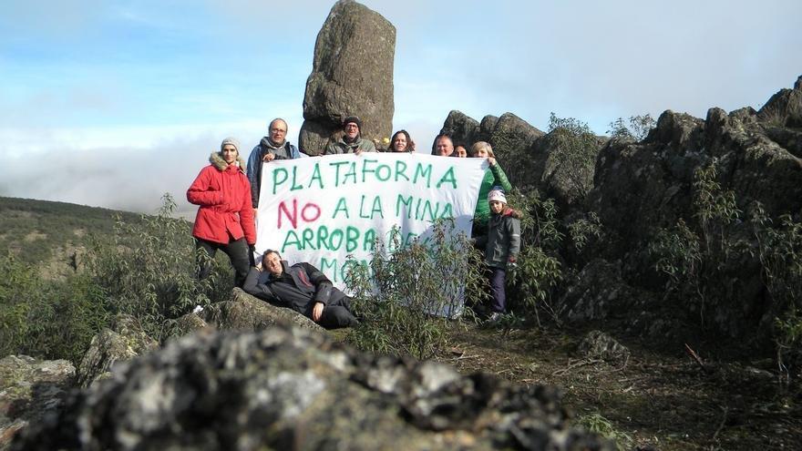 Plataforma No a la Mina de Arroba