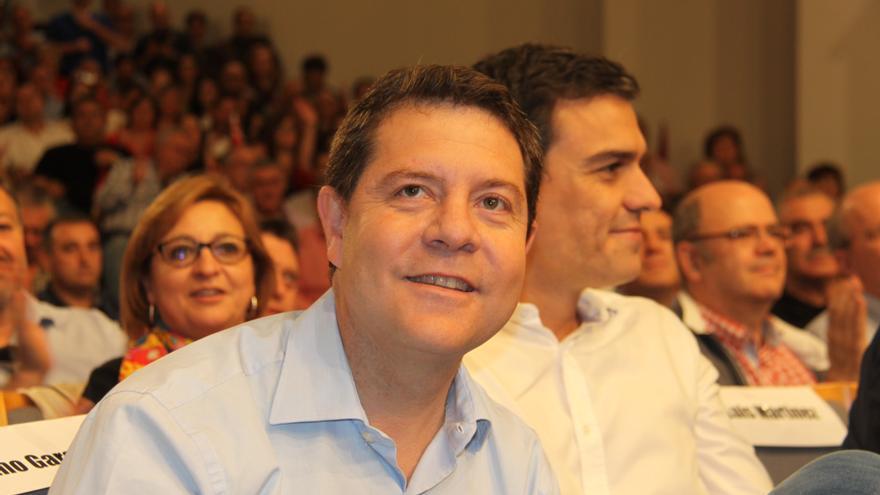 Emiliano García-Page y Pedro Sánchez