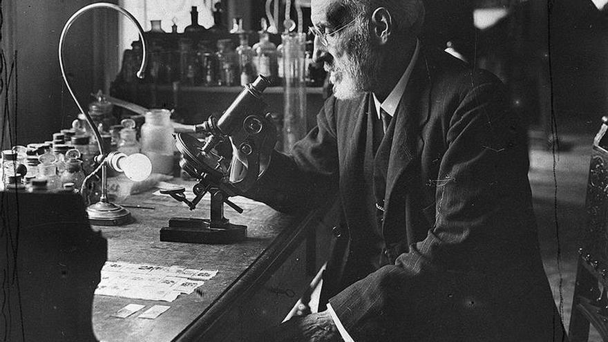 La familia de Ramón y Cajal quiere ceder a Aragón su legado que está en Madrid