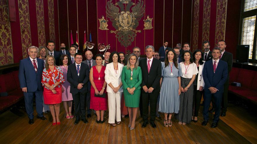 Nueva Corporación del Ayuntamiento de Toledo  FOTO: Ayuntamiento de Toledo